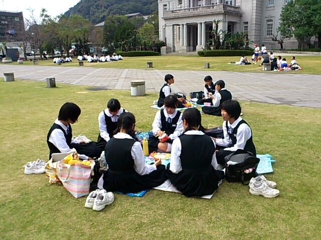 高校一日体験学習昼食