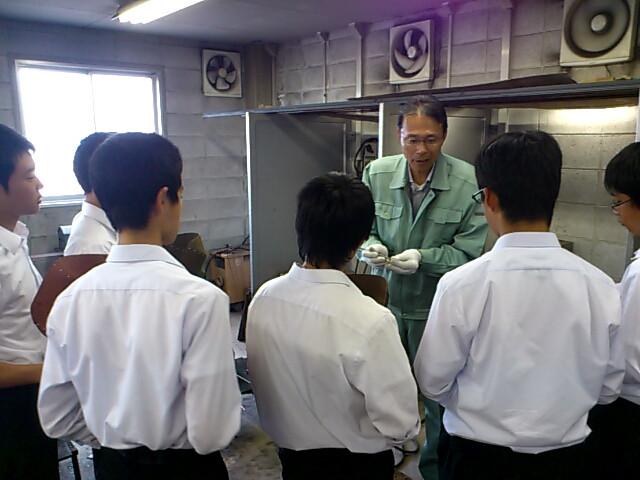 高校一日体験学習樟南高校授業体験