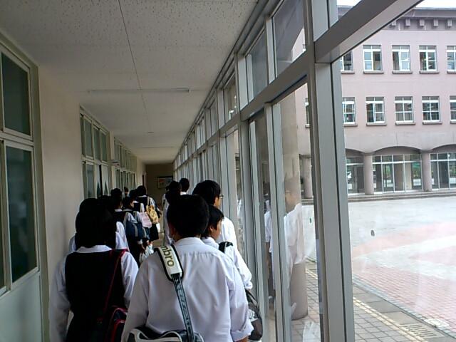 高校一日体験学習樟南高校終了